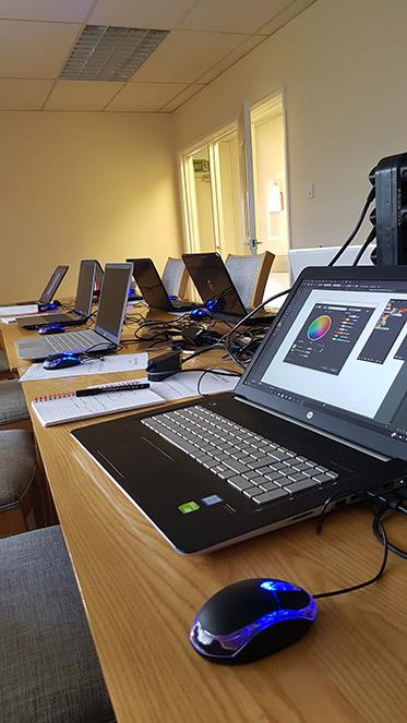 Onsite Photoshop Introduction Course across Shropshire