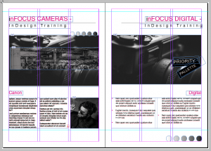Adobe InDesign Training - Grids & Guides