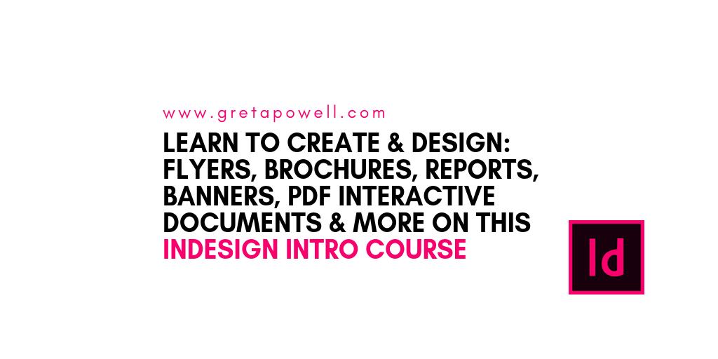 Adobe InDesign Training Cheshire | Adobe InDesign Courses