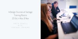 InDesign Training in Nottingham