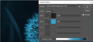Duotone box in Photoshop