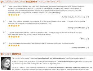 Onsite Adobe Training | Greta Powell Reviews for Adobe Illustrator Training Course
